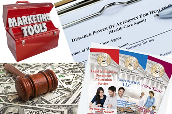Referral Associate Enrollment Fee Legal Business Documents - Legal document preparation business